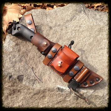custom leather sheath